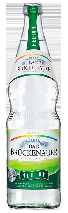 Flaschenabbildung Bad Brückenauer Mineralwasser medium