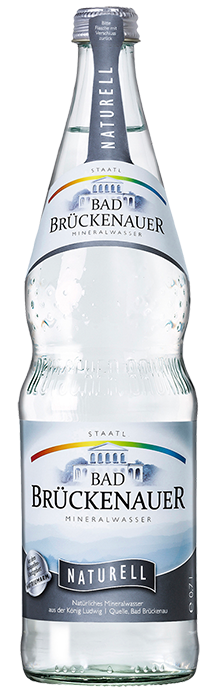 Flaschenabbildung Bad Brückenauer Mineralwasser naturell