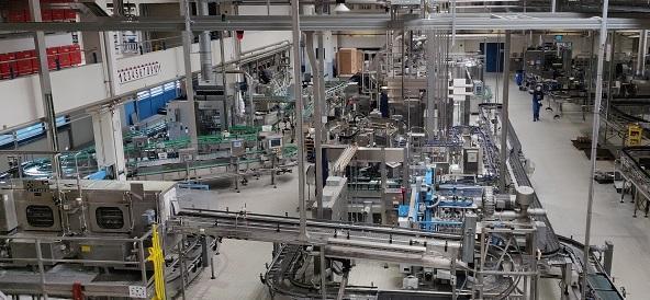 Neu Glas-Flaschenwaschmaschine Füller Palettierung Fa. Krones