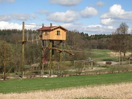 Hochseilgarten Volkersberg gesamt