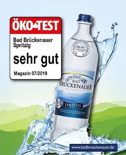 Bad Brückenauer spritzig Öko Test sehr gut